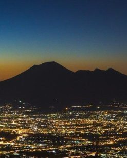 Erik Brede Photography - Mount Vesuvius at Night