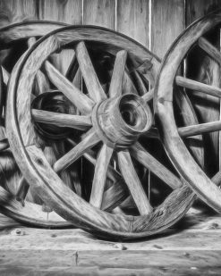 Erik Brede Photography - Old Wooden Wheels