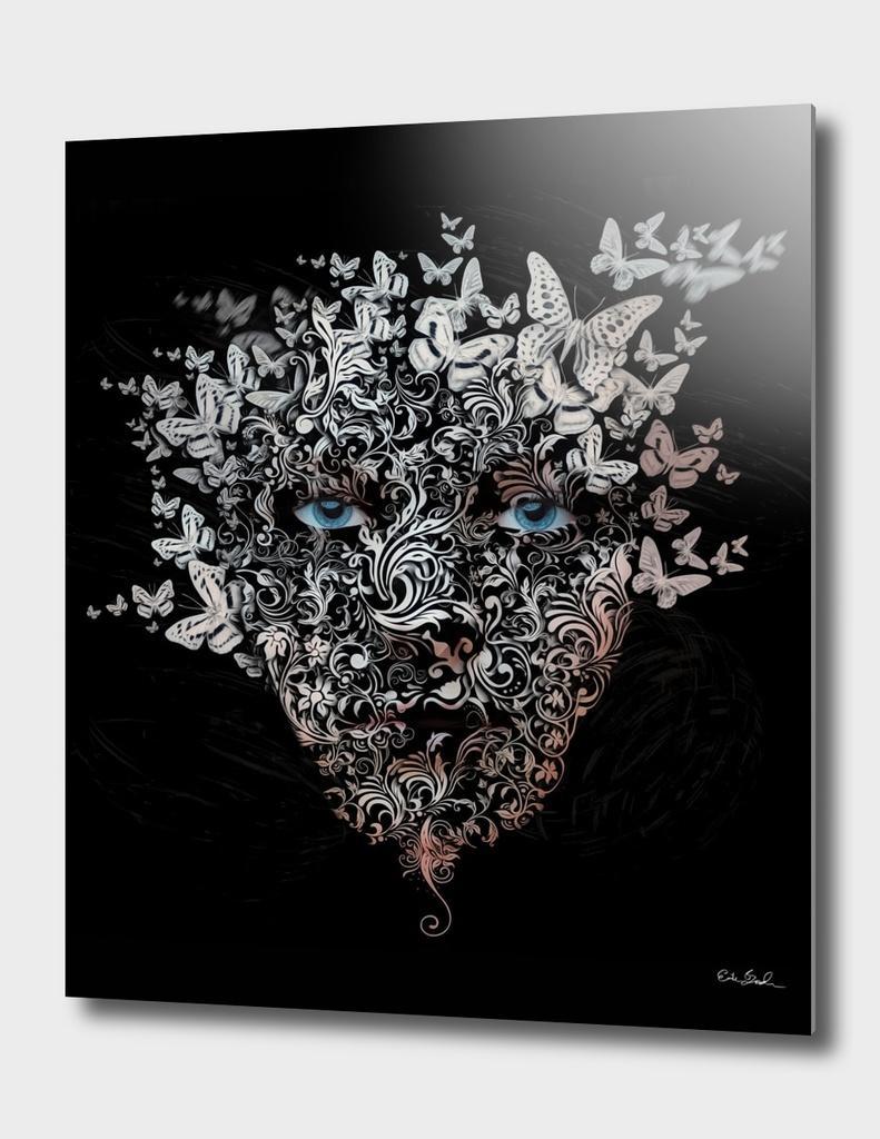 Dissolving Face - Erik Brede Photography