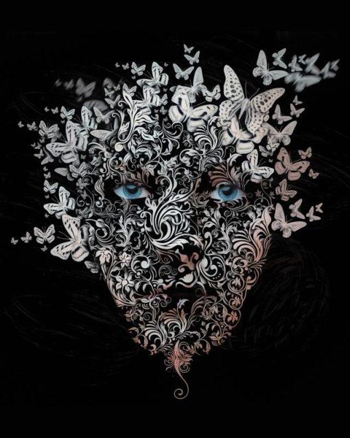 Dissolving Face - Erik Brede