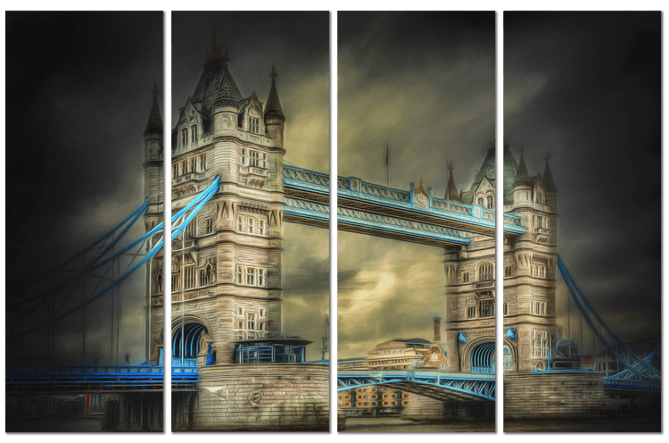 London Tower Quadriptych