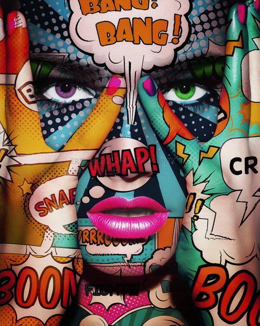 Pop Art Face Part 2 - Erik Brede