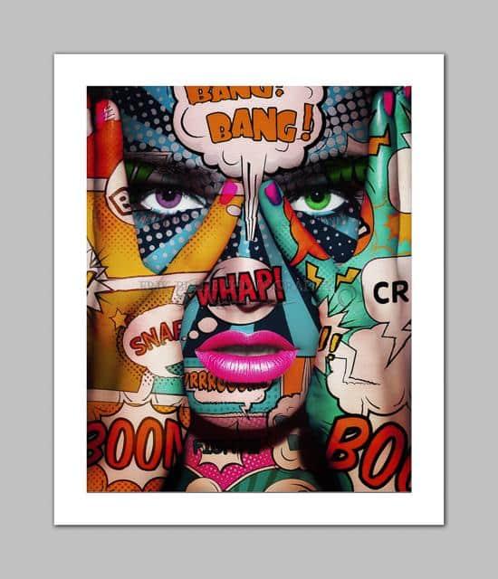pop art face part 2
