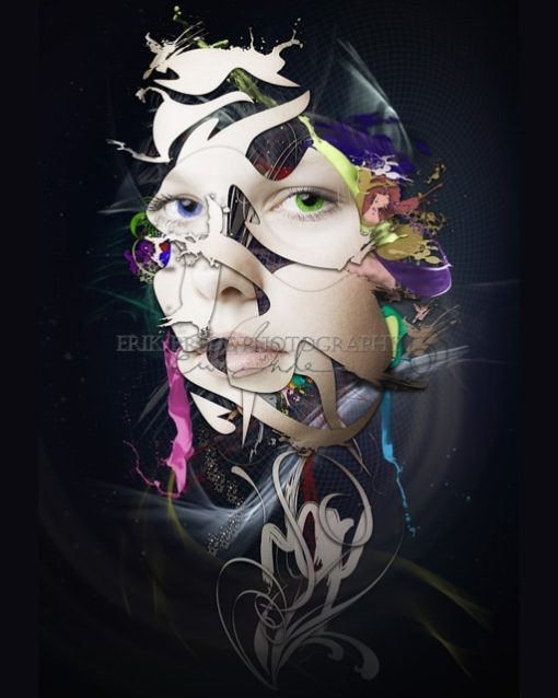 Abstract Portrait No 10 - Erik Brede Photography