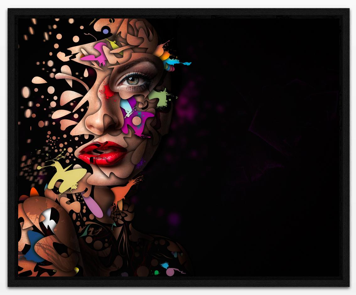Abstract Portrait 12 - Gallery - Erik Brede