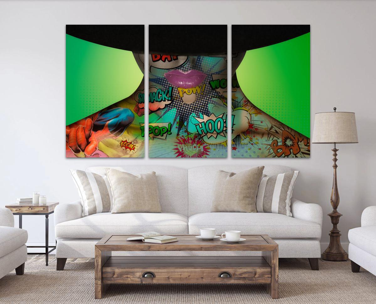 Hat Woman Triptych - Erik Brede Photoraphy