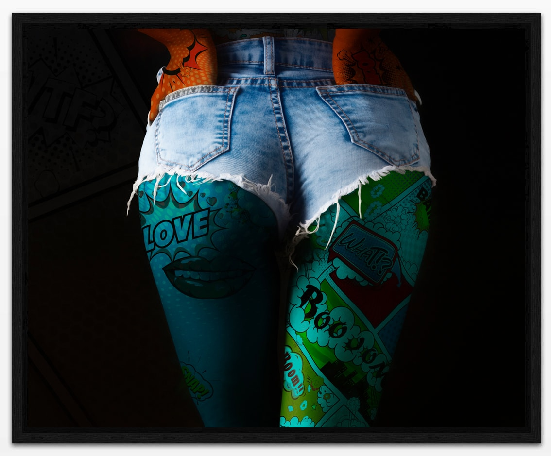 PopArt Girl Part 3 - Erik Brede Photography